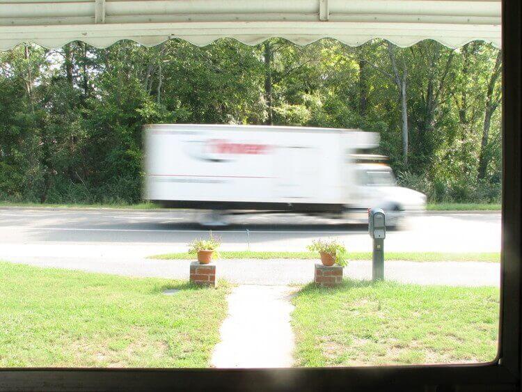 引越し用のトラック