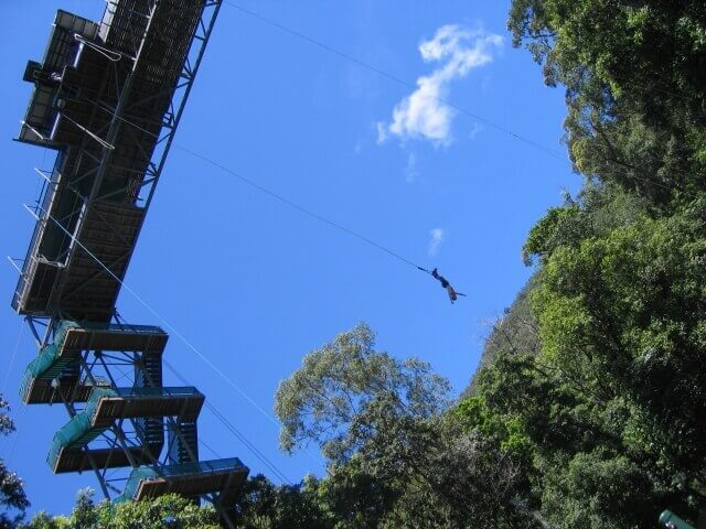 オーストラリアのバンジージャンプ
