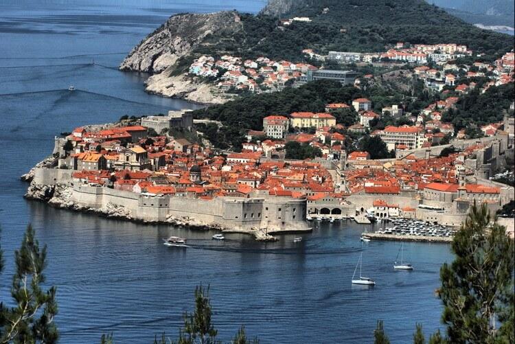 クロアチアの街並み