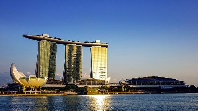 シンガポール、マリーナベイサンズ