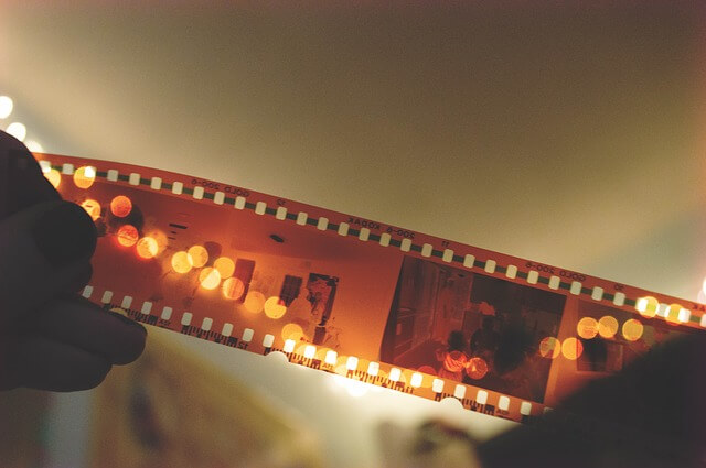 映画館で使用されているフィルム