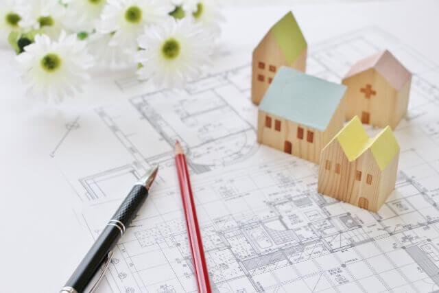家の設計図面