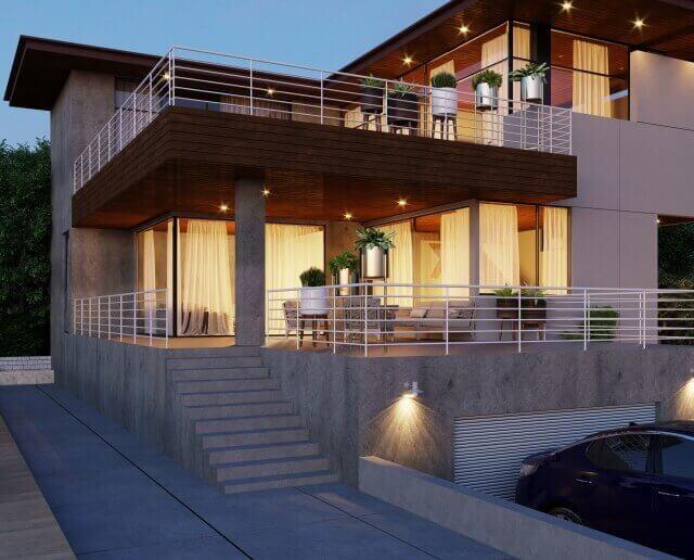 設計士の家